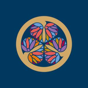 三つ葉葵[藍]