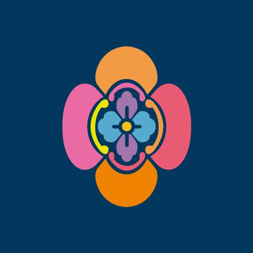 竪木瓜[藍]