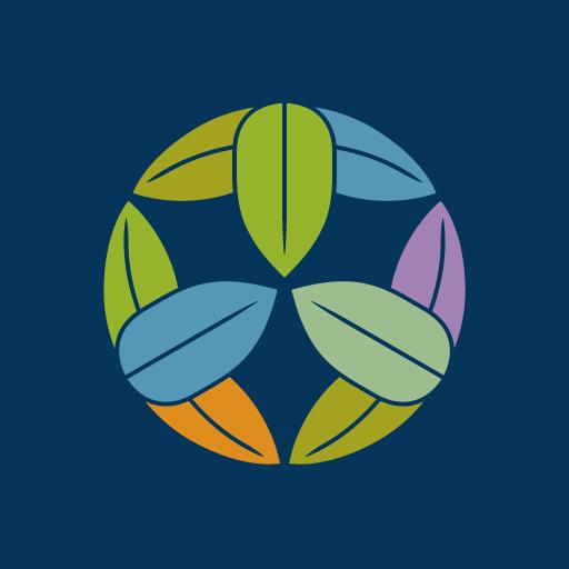 九枚笹[藍]